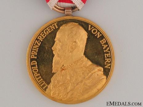 Jubilee Medal (Gold) ObverseMilitary Order of St. George, Jubilee Medal (in gold)