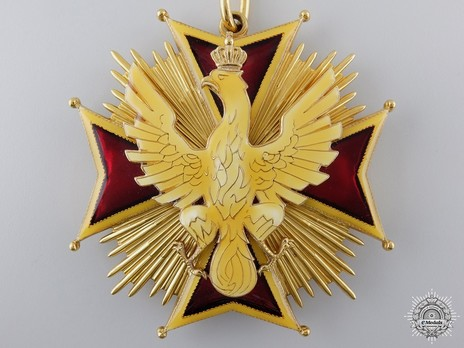 Order of the White Eagle, Cross (1941-1992) Obverse
