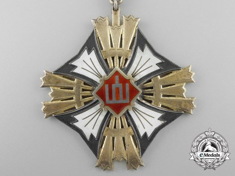 Order of Gediminas, Type I, I Class Cross Obverse