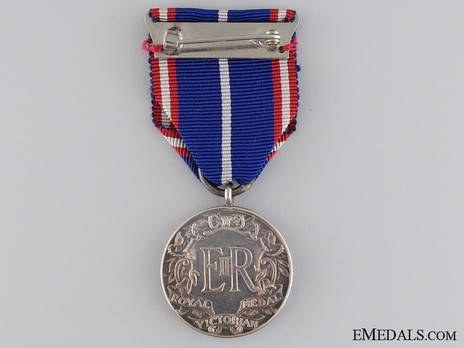 Silver Medal (for Foreigners, 1952-) Reverse