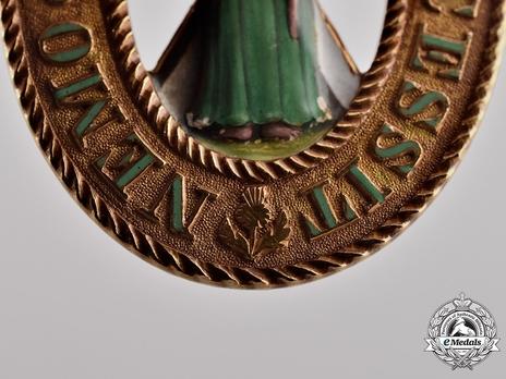 Sash Badge Reverse Detail