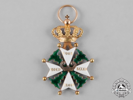 Military Order of William, Knight III Class Reverse