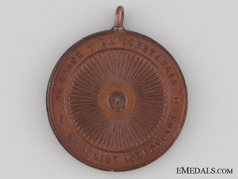 Medal Reverse (Copper)