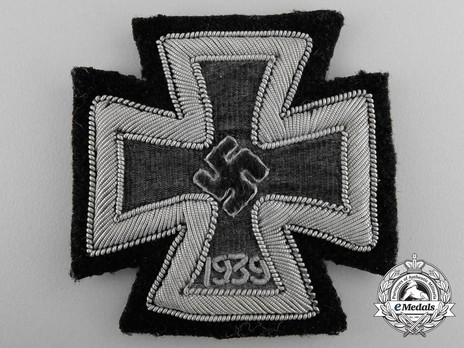 Iron Cross I Class, in Cloth Obverse