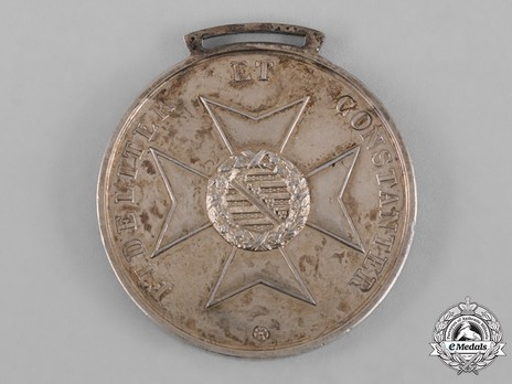 Saxe-Ernestine House Order Medals of Merit, Type I, in Gold (in silver gilt, with hallmarks)