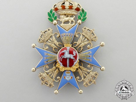 Dukely Order of Henry the Lion, Grand Cross (in silver gilt) Obverse