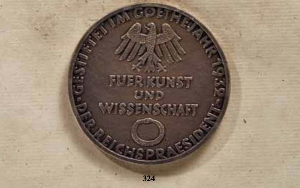 Goethe+medal+for+art+and+science%2c+i+type%2c+obv+