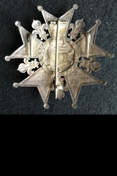 Order of the Legion of Honour, Type III, Grand Cross Breast Star Reverse