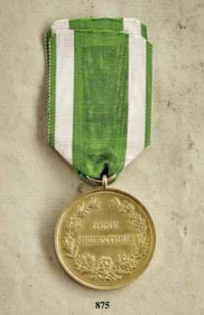 """Medal for Art and Science """"BENE MERENTIBVS"""", Type IV, in Gold (stamped """"M. BARDULECK"""")"""