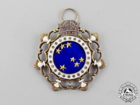 Order of the Pleiades (Nishan-i-Haft Paykar), I Class Obverse