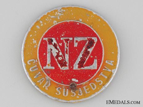 Aluminum Badge Obverse