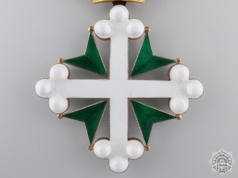 Order of St. Maurice and St. Lazarus, Grand Cross (in gold) Obverse