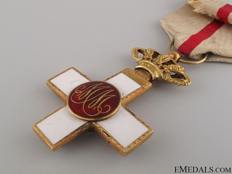 1st Class Cross (red distinction pension) (gold) Reverse