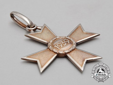 Knight's Cross of the War Merit Cross without Swords (by C. F. Zimmermann) Reverse