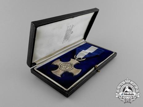 Silver Cross (1937-1949) (by Garrard) in Case of Issue