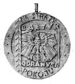 Decoration of the Peace Guard, I Class Obverse