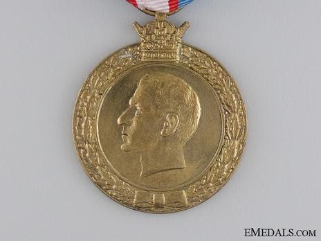 National Uprising (28th Amordad) Medal, 1953 Obverse