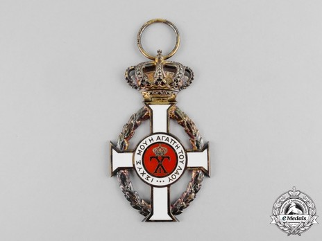 Royal Order of George I, Civil Division, Grand Cross Obverse