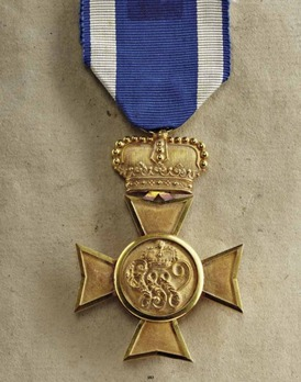 Long Service Cross for 50 Years