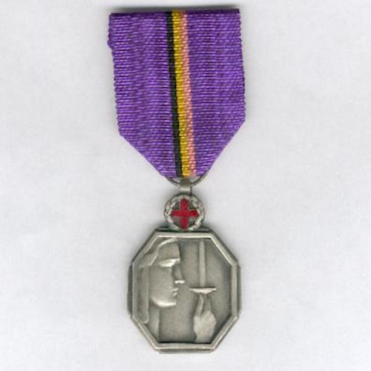 Silver medal w cross o1