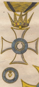 Grand Cross (in gold, 1818-1857)