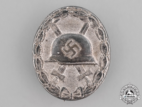 Wound Badge, in Silver Obverse