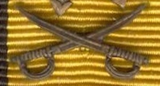 Bronze Medal Clasp for Military Service Obverse