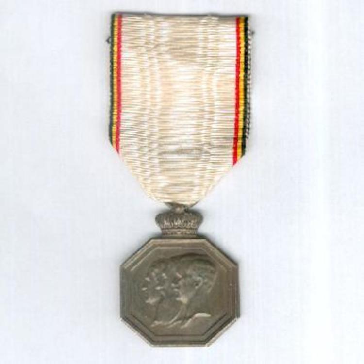 Silvered bronze medal obv1