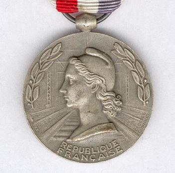 "Silver Medal (stamped ""CH. FAVRE-BERTIN,"" 1939-1953) Obverse"