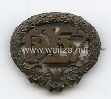 German Heavy Athletics Sports Badge, Type I, in Bronze Obverse