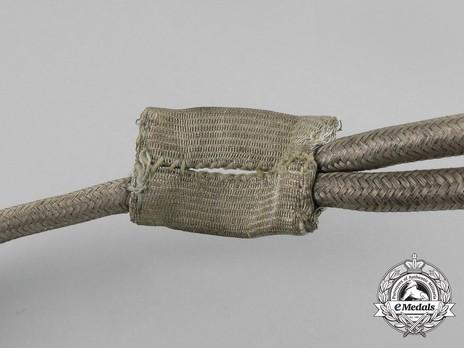 German Army Adjutant & Staff Officer Aiguillette Detail