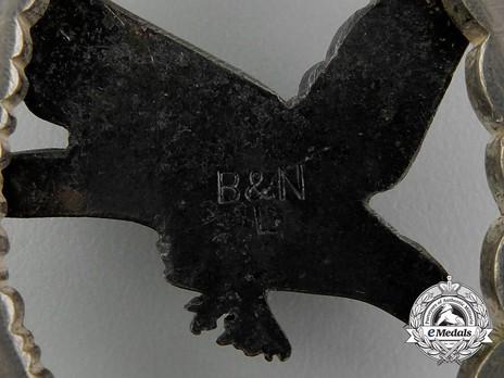 Air Gunner & Flight Engineer Badge, by Berg & Nolte (in tombac) Detail