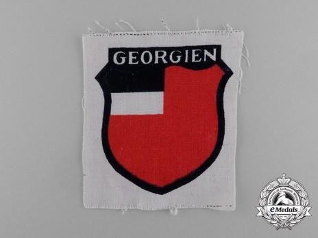 German Army Georgia Sleeve Insignia Obverse