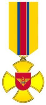Cross for Distinguished Service, I Class Obverse