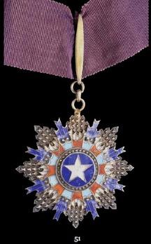 Order of the Brilliant Star, III Class Sash Badge