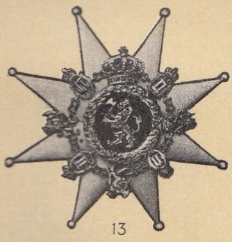 Knight Breast Star