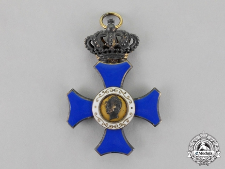 Order of Maria Anna, I Class Cross with Crown (in silver gilt)
