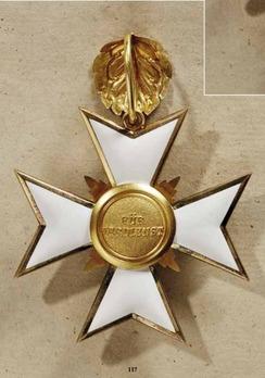 Order of Merit, Civil Division, II Class Cross (in gold, 1891-1918)