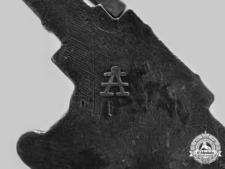 Luftwaffe Flak Badge, by Assmann (in tombac) Mark