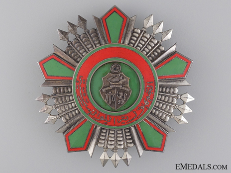 Order of the Republic, Grand Cross Breast Star