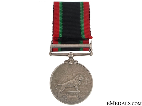 """Silver Medal (with """"S. KORDOFAN 1910"""" clasp, with """"1328"""" date) Reverse"""