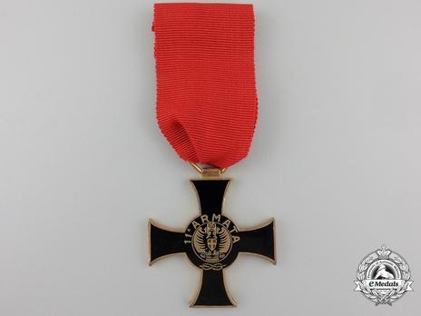 """Cross (stamped """"G. MORI"""") Obverse"""