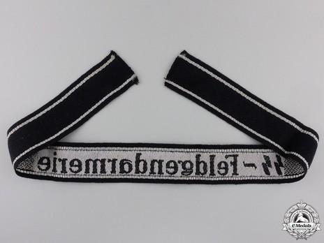 Waffen-SS Feldgendarmerie Cuff Title Reverse