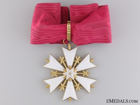 Order of the White Star, II Class Cross Obverse
