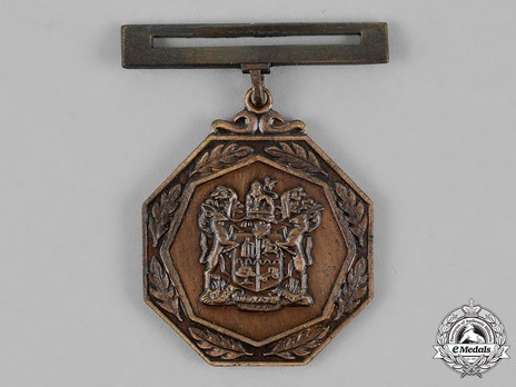 South African Railways Police Medal for Combating Terrorism Obverse