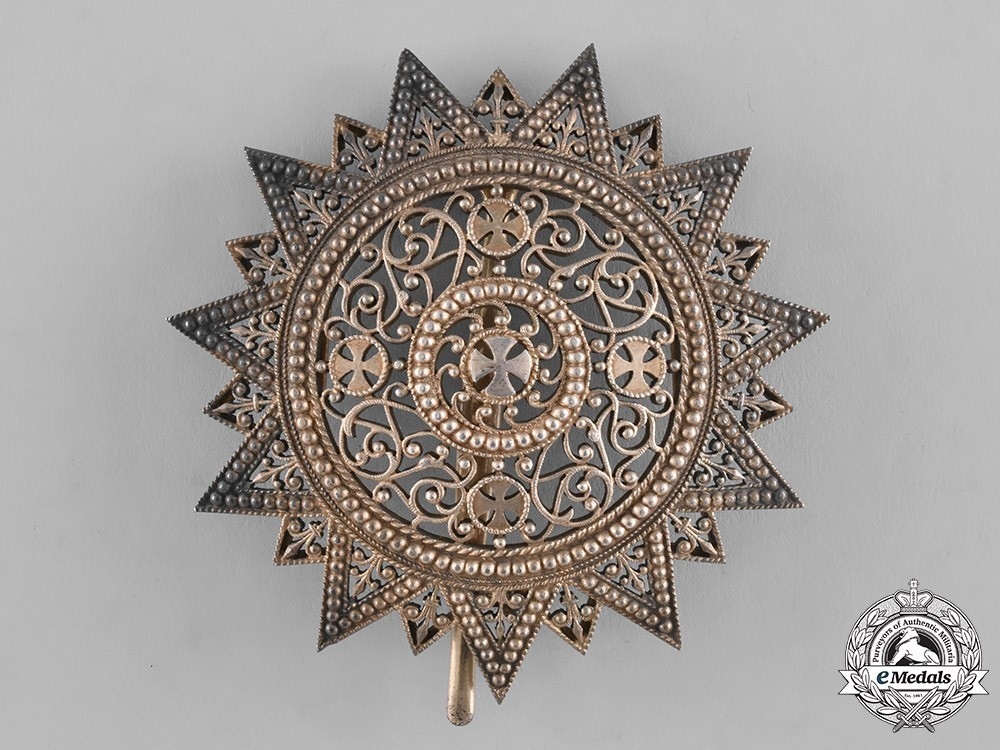 Order+of+the+star+of+ethiopia%2c+grand+cross+breast+star+%28in+silver+gilt%29+1