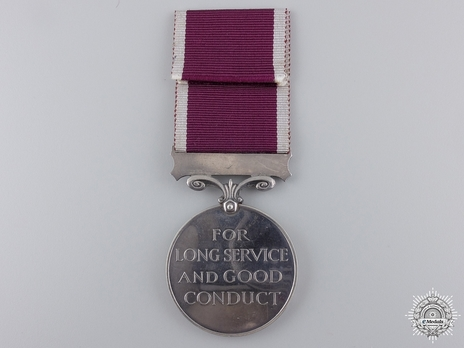 Silver Medal (for Regular Army, 1937-1948) Reverse