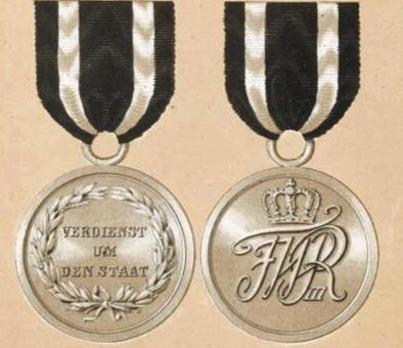Silver Medal (1809-1815)
