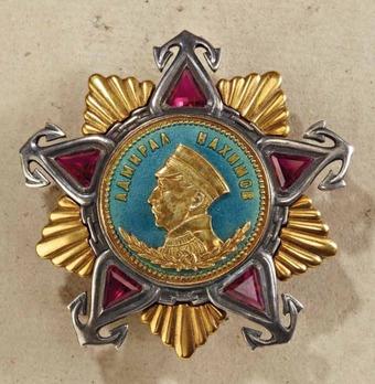 Order of Nakhimov I Class Medal Obverse