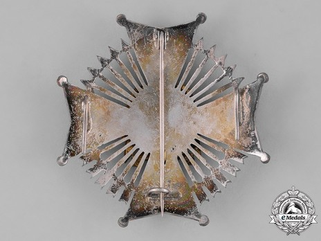 Commander with Plate Breast Star Obverse